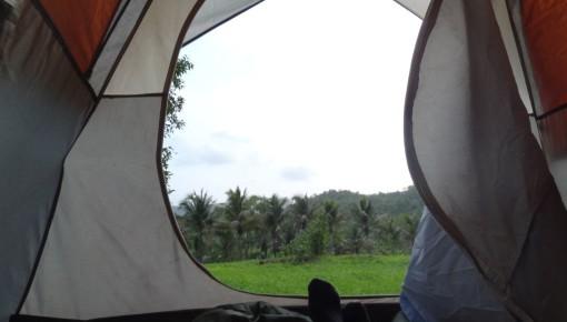 Monsoon camping at <font color=