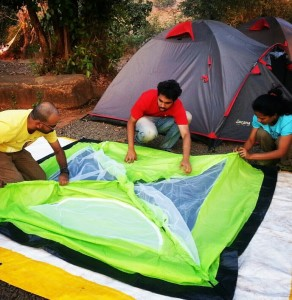 5 tips to pitch a tent 3