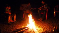 Campfire Nights at Big Red Tent