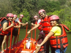 White Water Rafting at Kolad 9