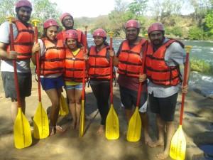 White Water Rafting at Kolad 10