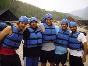 White Water Rafting at Kolad 1