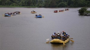 White Water Rafting at Kolad 2