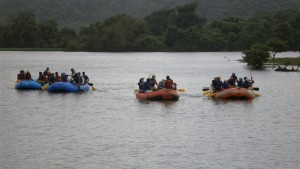 White Water Rafting at Kolad 3