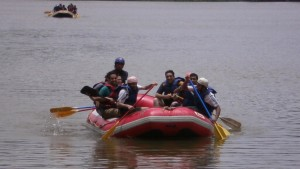 White Water Rafting at Kolad 4