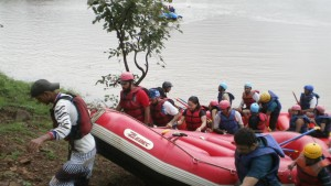 White Water Rafting at Kolad 6